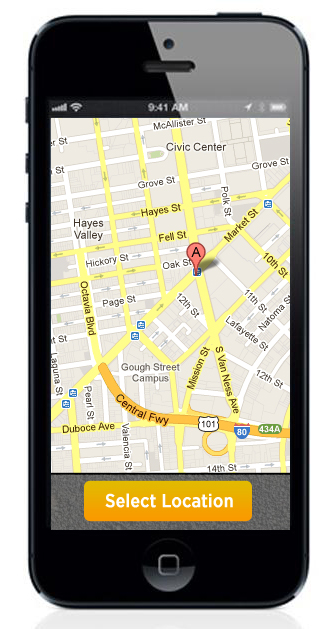 Google maps on an iPhone?
