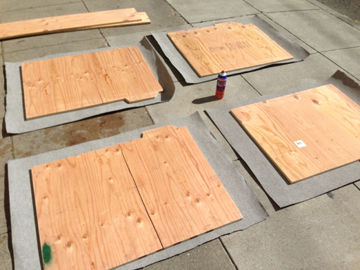 covering-plywood-with-carpet