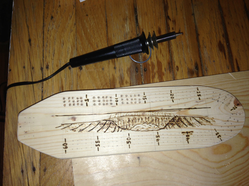 cribbage-board-wood-burn-wave