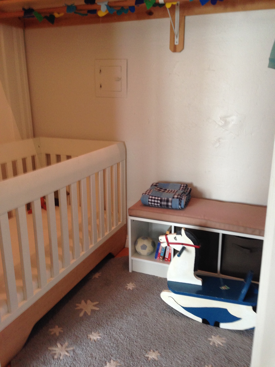 Studio Apartment Nursery life in a studio apartment with my wife and two sons - greg kroleski