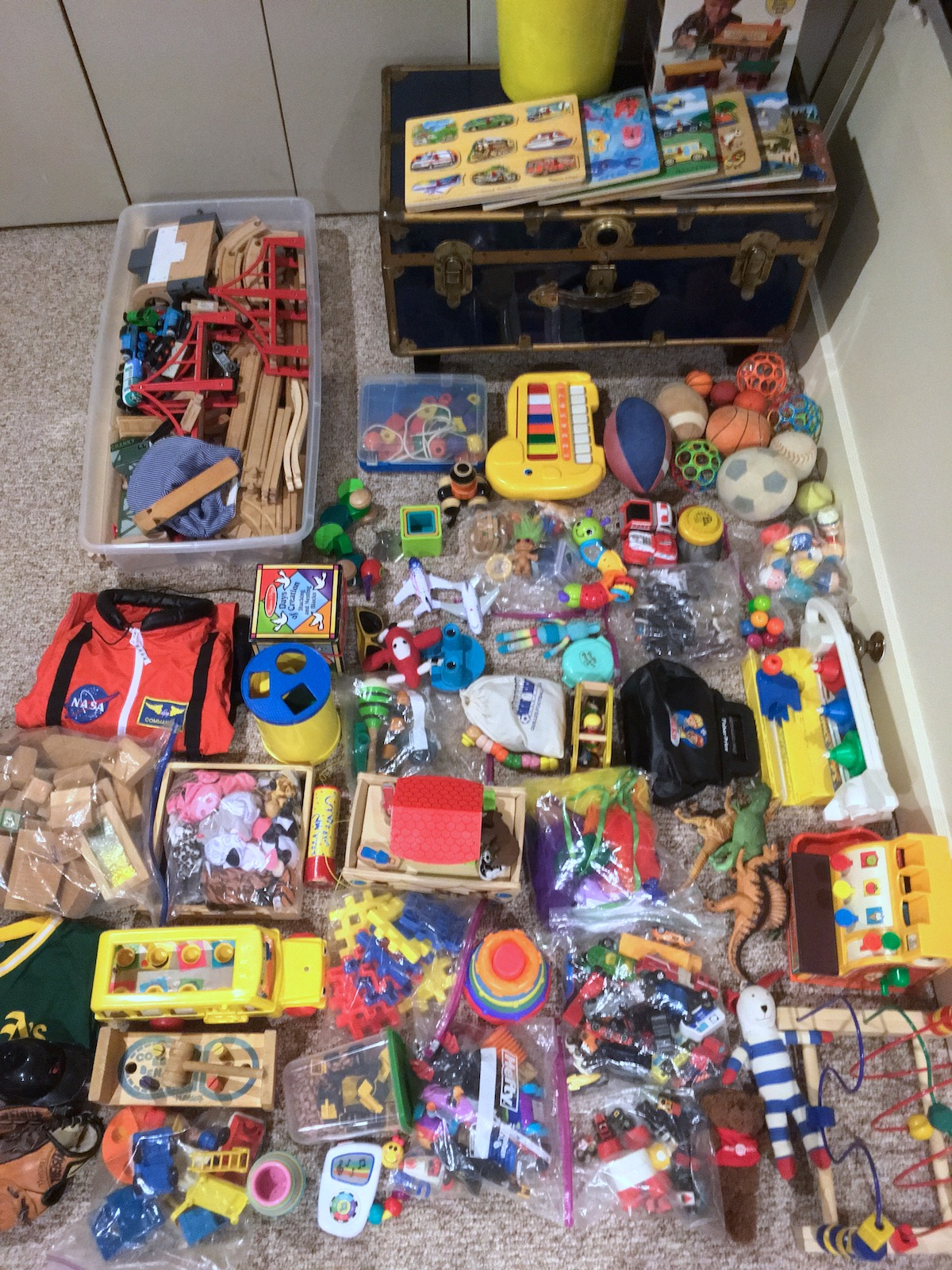 Toys For All : How the kroleski family does toys our rotation process